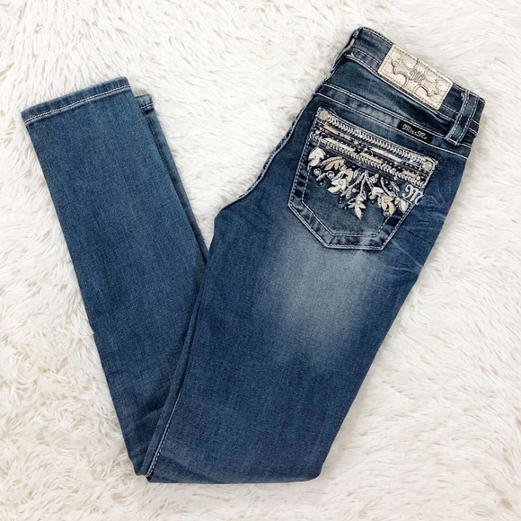 Miss Me Denim - Miss Me Hailey Skinny Jeans size 26